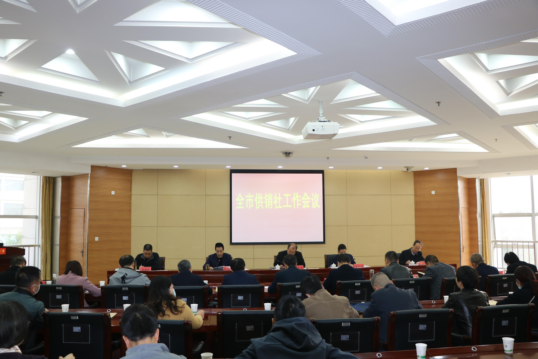 2021年全市供销社工作会议召开